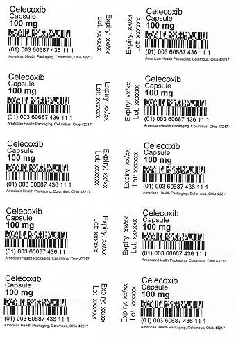 100 mg Celecoxib Capsule Blister