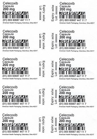 200 mg Celecoxib Capsule Blister