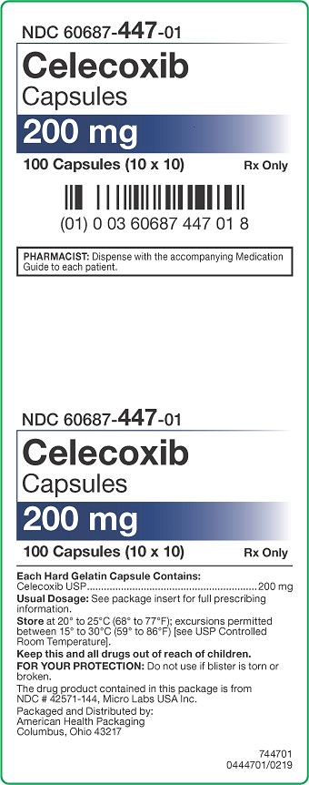 200 mg Celecoxib Capsules Carton