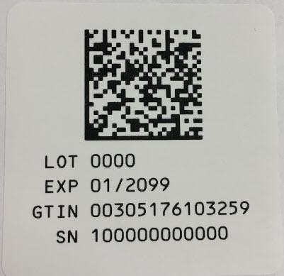 Serialization Label - 10 mL