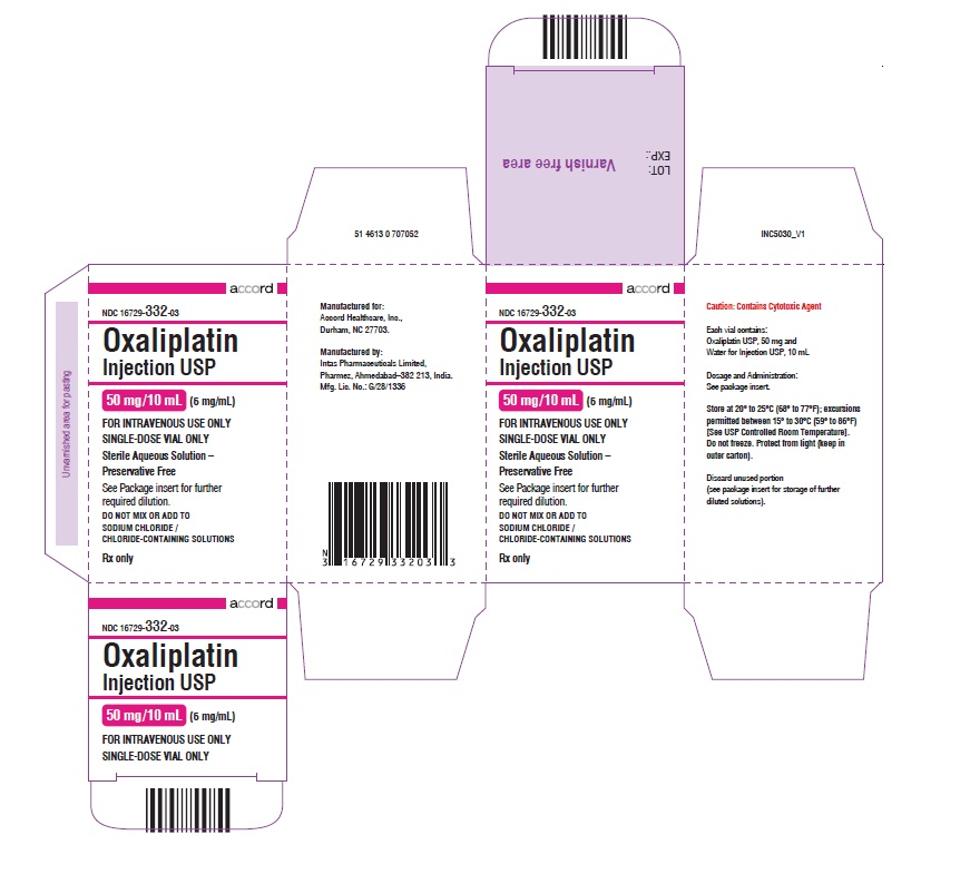 oxaliplatin Injection, USP 50 mg/10 mL (5 mg/mL)-single-dose-Carton