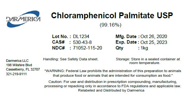Chloramphenicol Palmitate