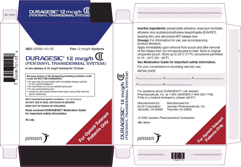 PRINCIPAL DISPLAY PANEL - 12 mcg/h Patch Pouch Box