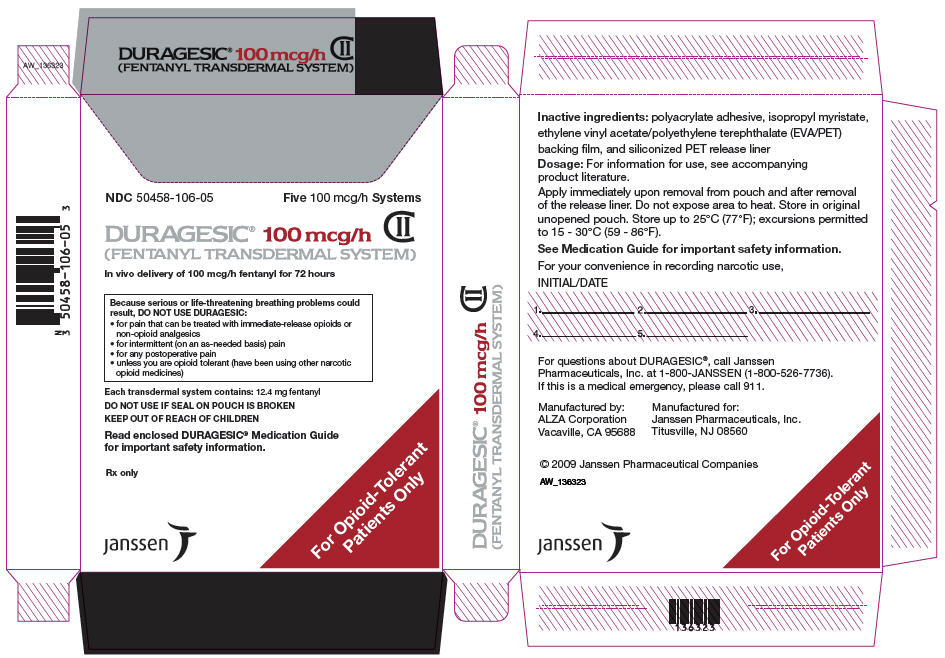 PRINCIPAL DISPLAY PANEL - 100 mcg/h Patch Pouch Box