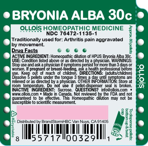Bryonia Alba 30c