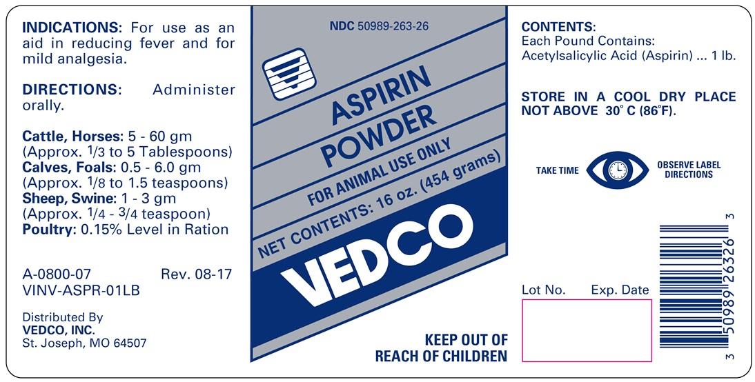 VED Aspirin Powder