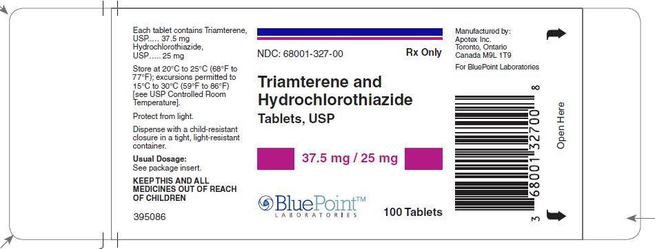 Triam/HCTZ 37.5/25mg label