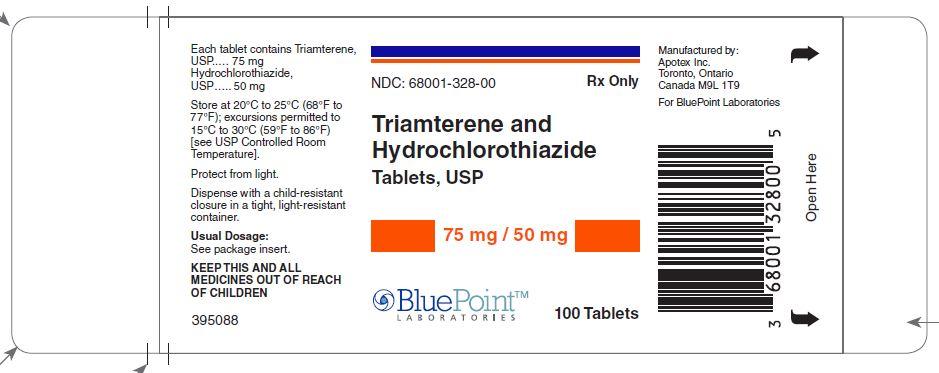 Triam/HCTZ 75/50mg label