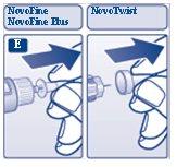 Pull off inner needle cap.