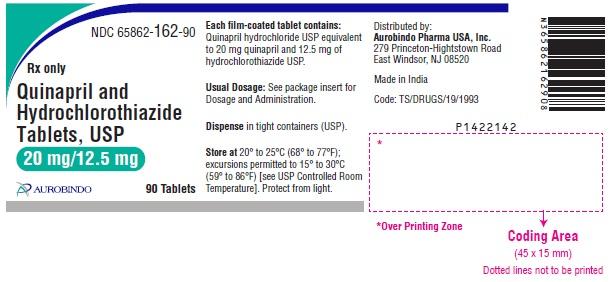 PACKAGE LABEL-PRINCIPAL DISPLAY PANEL - 20 mg/12.5 mg (90 Tablet Bottle)