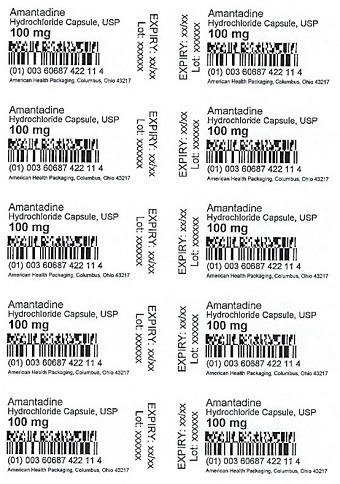 100 mg Amantadine HCl Capsule Blister