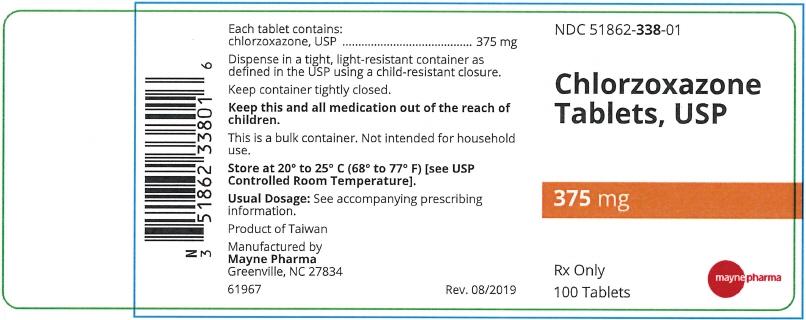 PRINCIPAL DISPLAY PANEL - 375 mg Tablet Bottle Label