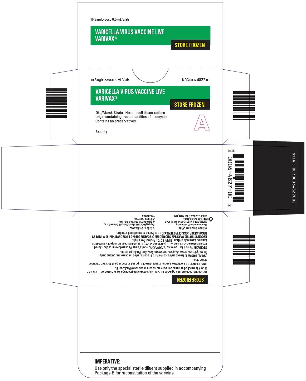 PRINCIPAL DISPLAY PANEL - 10 Single Dose 0.5 mL Vial Carton