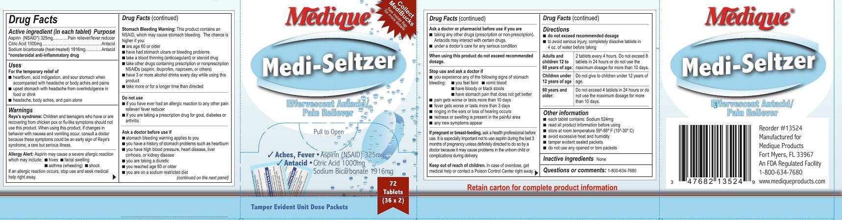 Medique Mediseltzer