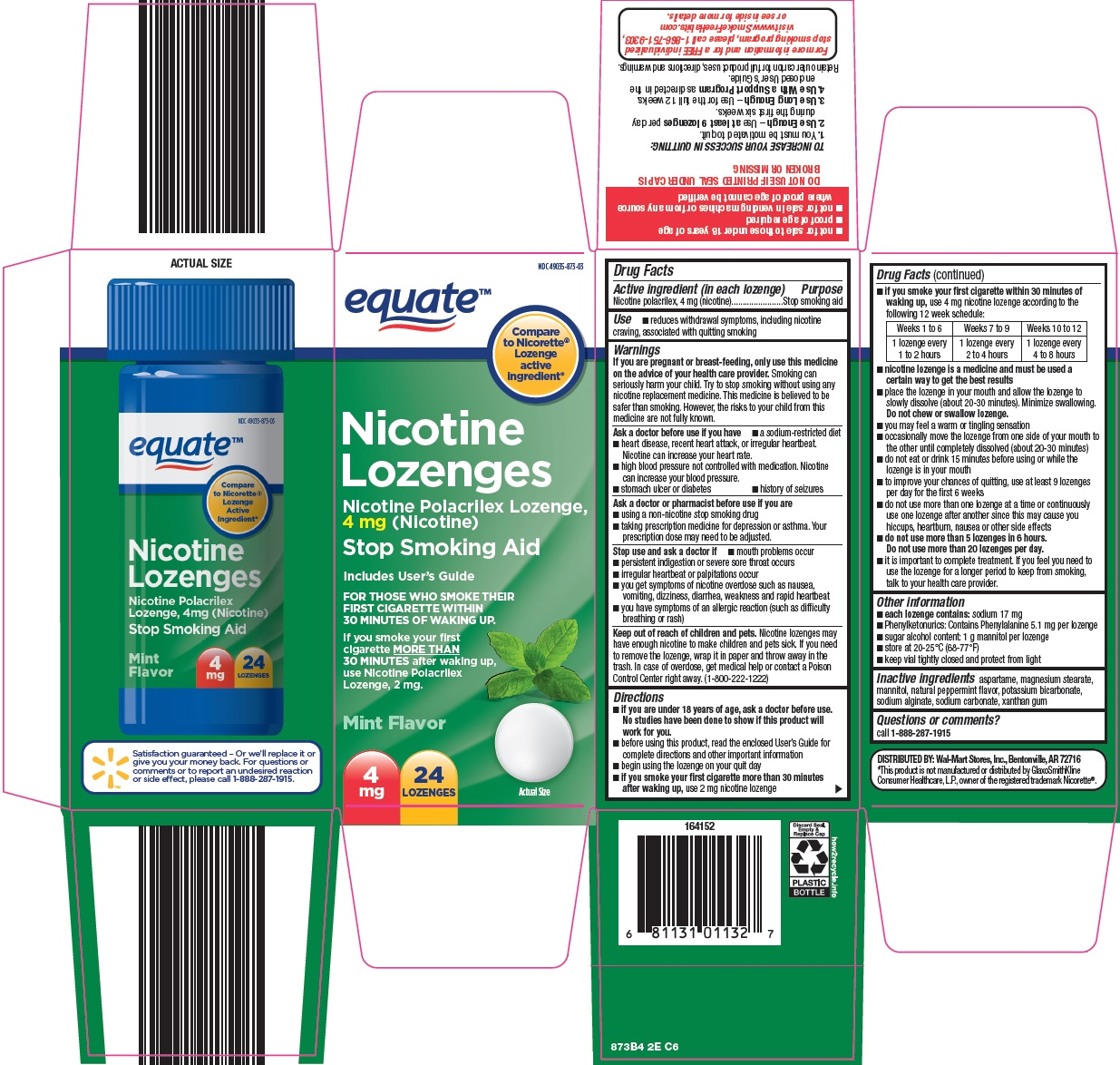 nicotine lozenges image