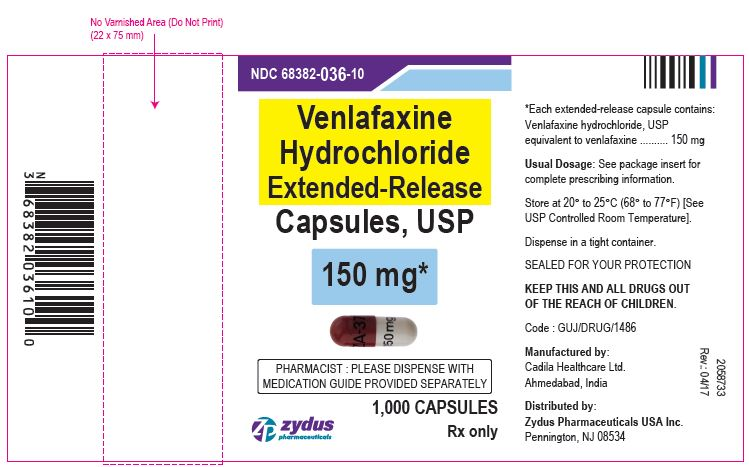 Venlafaxine hydrochloride extended-release capsules, USP