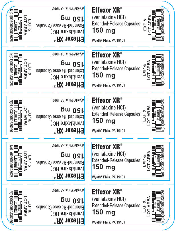 Principal Display Panel - 150 mg Capsule Blister Pack