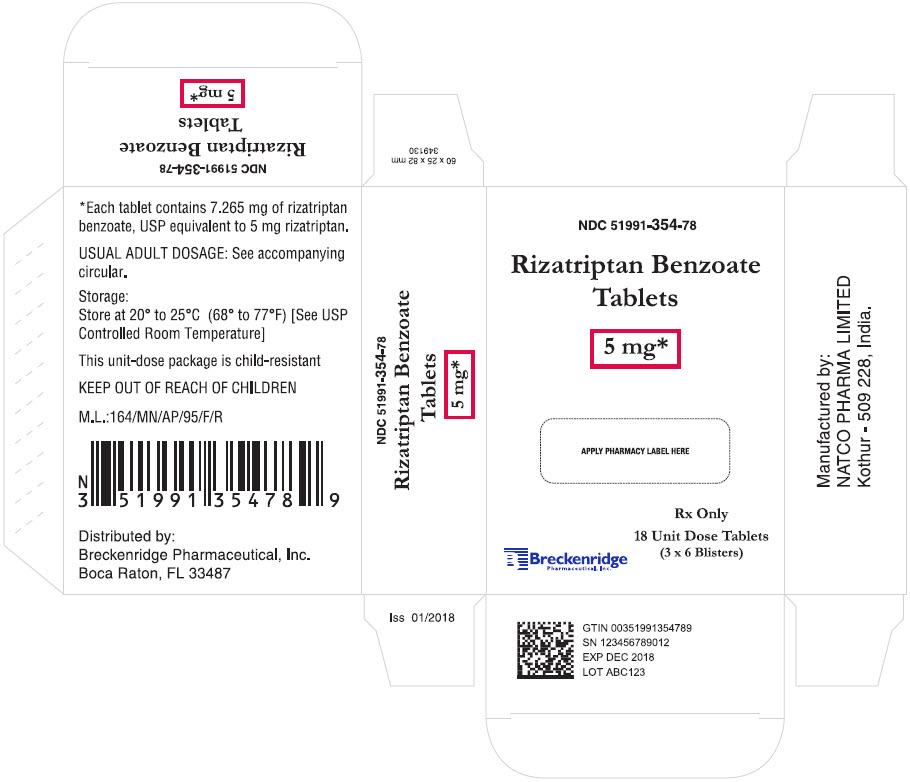 PRINCIPAL DISPLAY PANEL - 5 mg Tablet Blister Pack Carton