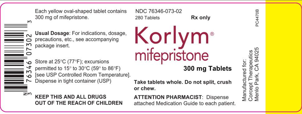 PRINCIPAL DISPLAY PANEL  - for 280 Tablets Bottle Label (PC4470B)