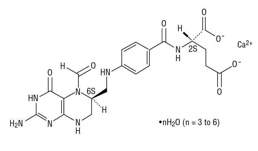 Levoleucovorin Structural Formula