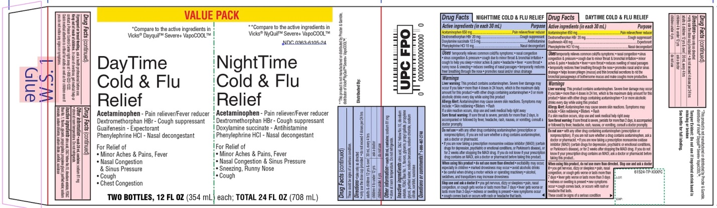 Day Time Cold & Flu Nite Time Cold & Flu Value Pack
