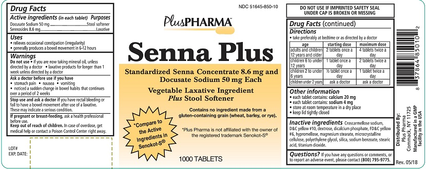 Plus Pharma Senna Plus