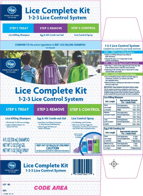 Kroger Co. Lice Complete Kit