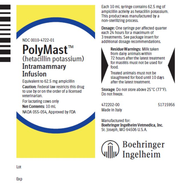 Picture of 10mL syringe label
