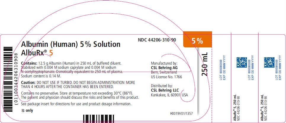 Principal Display Panel - 250 mL Vial Label