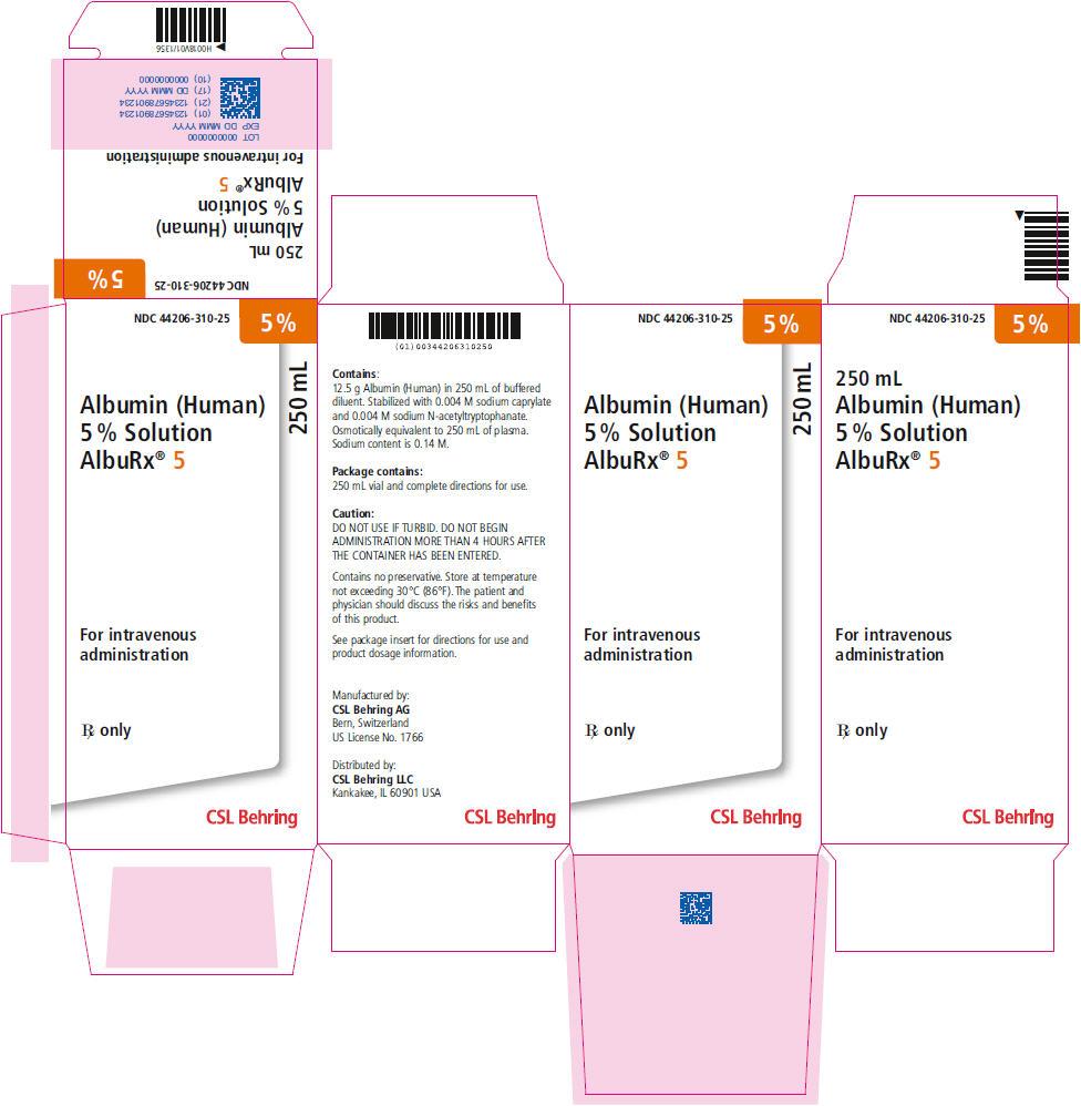 Principal Display Panel - 250 mL Vial Carton