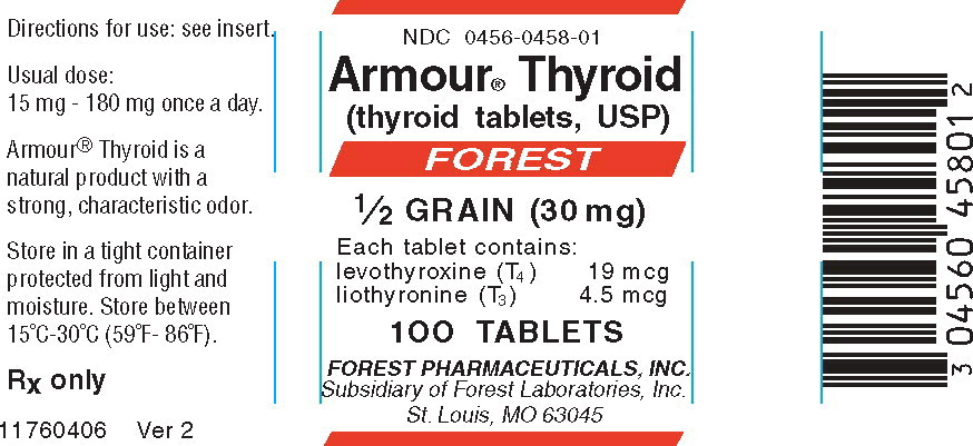 Principal Display Panel – 30 mg Bottle Label