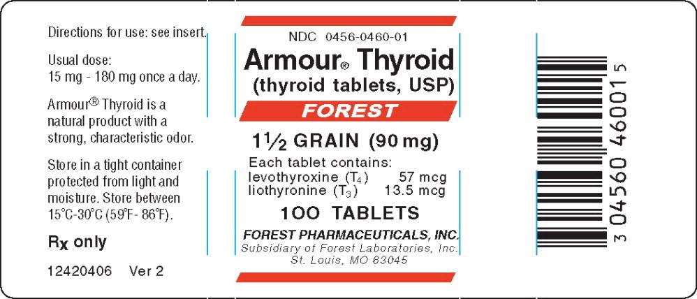 Principal Display Panel – 90 mg Bottle Label