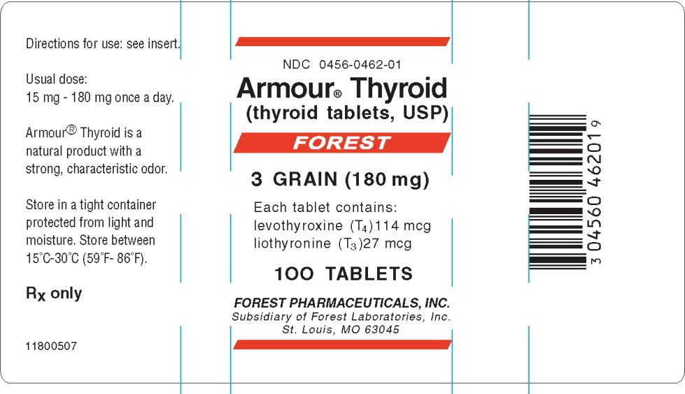 Principal Display Panel – 180 mg Bottle Label