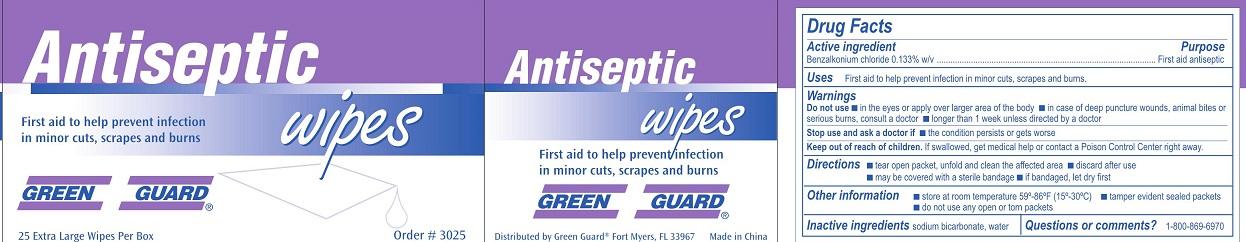GG Antiseptic Label 18