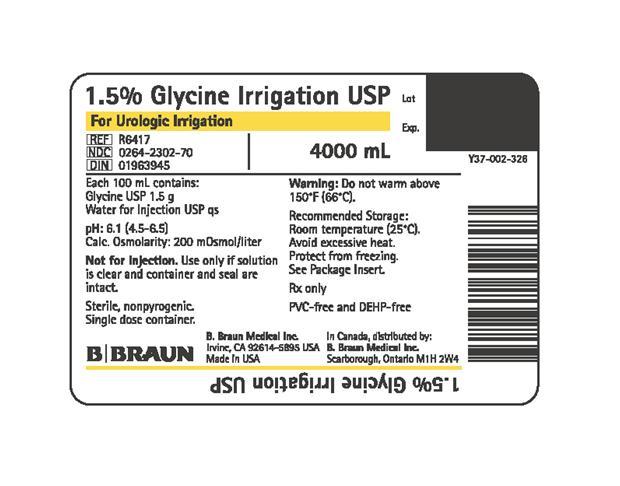 R6417 4000 mL Container Label