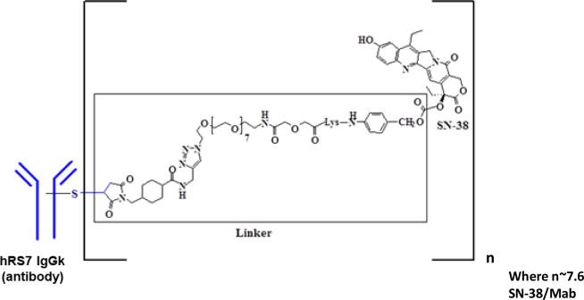 Sacituzumab Govitecan-hziy Chemical Structure