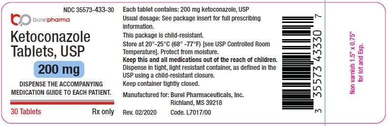 Ketoconazole Tablets, USP 200 mg