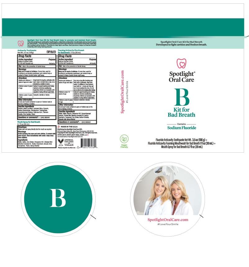 BadBreath Kit Label