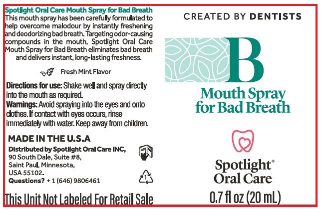 Spray for BadBreath