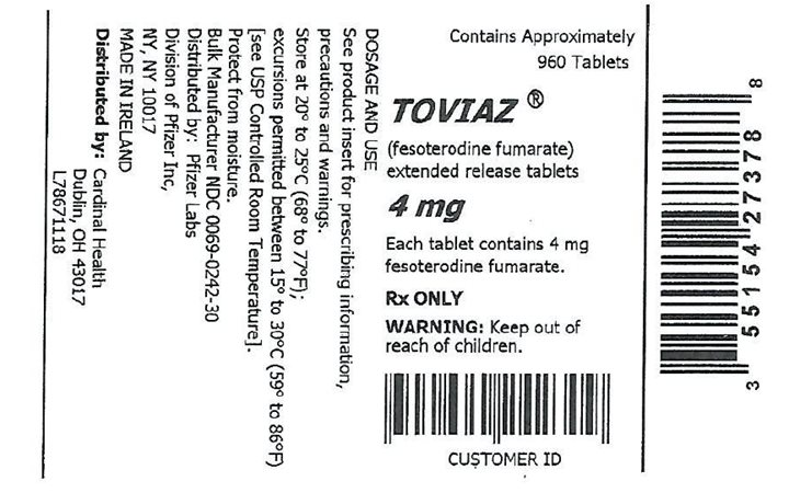 bottle label