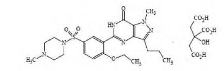 sildenafilosstructure