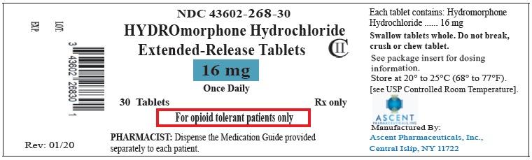 16 mg- 30s