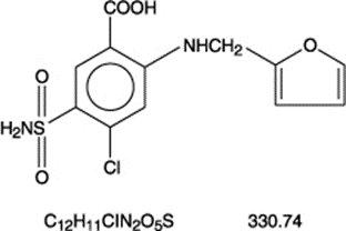 furosemidechemicalstructure
