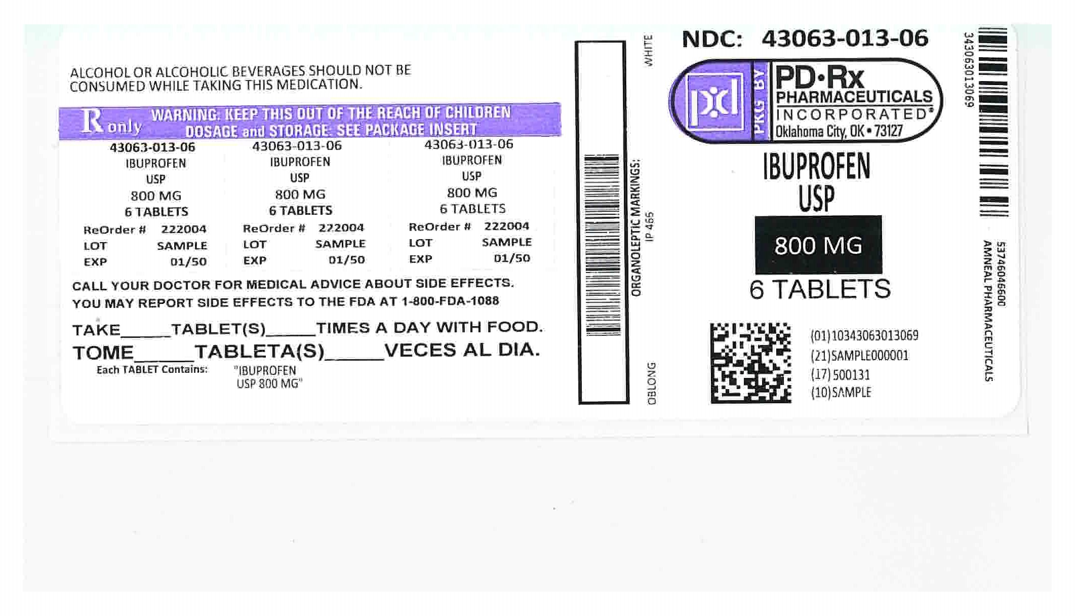 43063013 Label