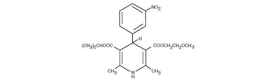 Nimodipine Structural Formula