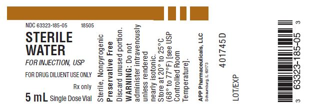 Principal Display Panel – 5 mL Vial Label