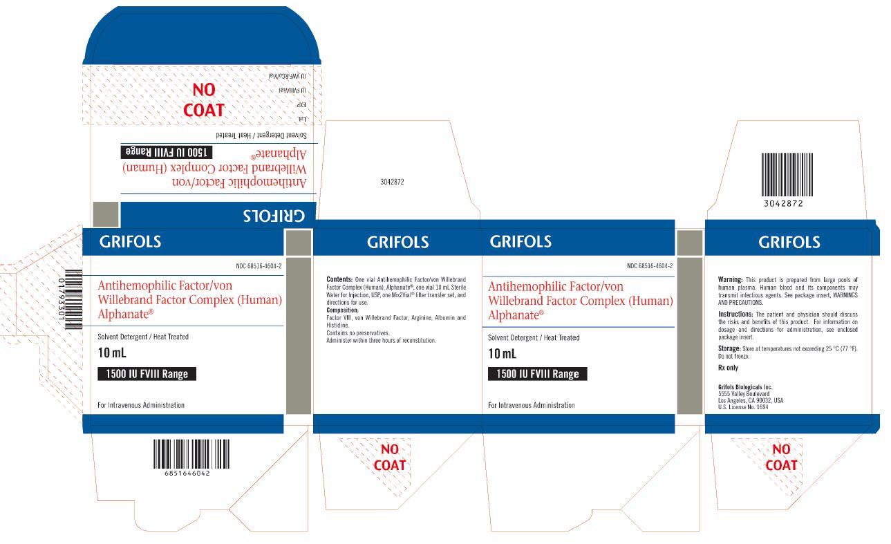 Principal Display Panel – 1500 IU Carton Label