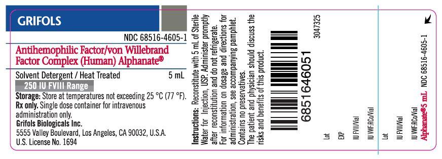 Principal Display Panel – 250 IU Vial Label