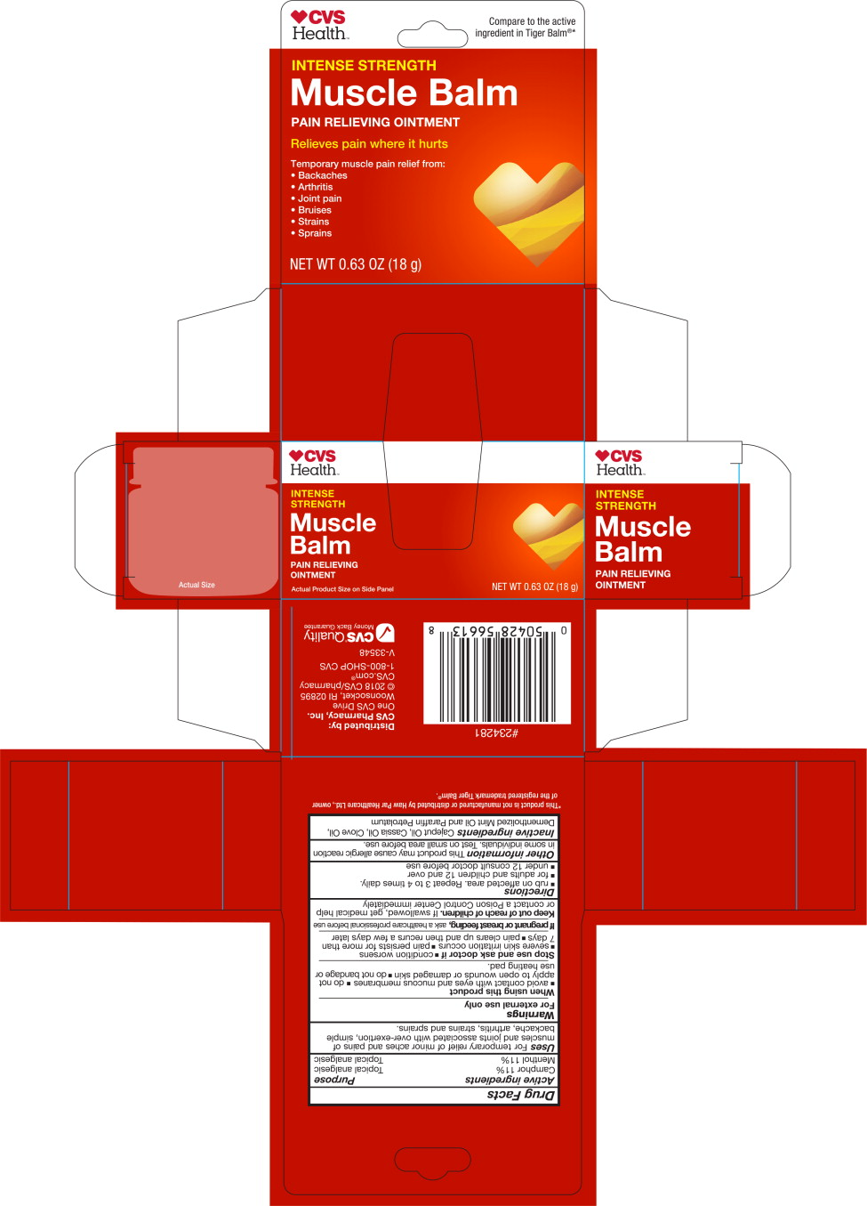 Principal Display Panel - 18 g Carton Label