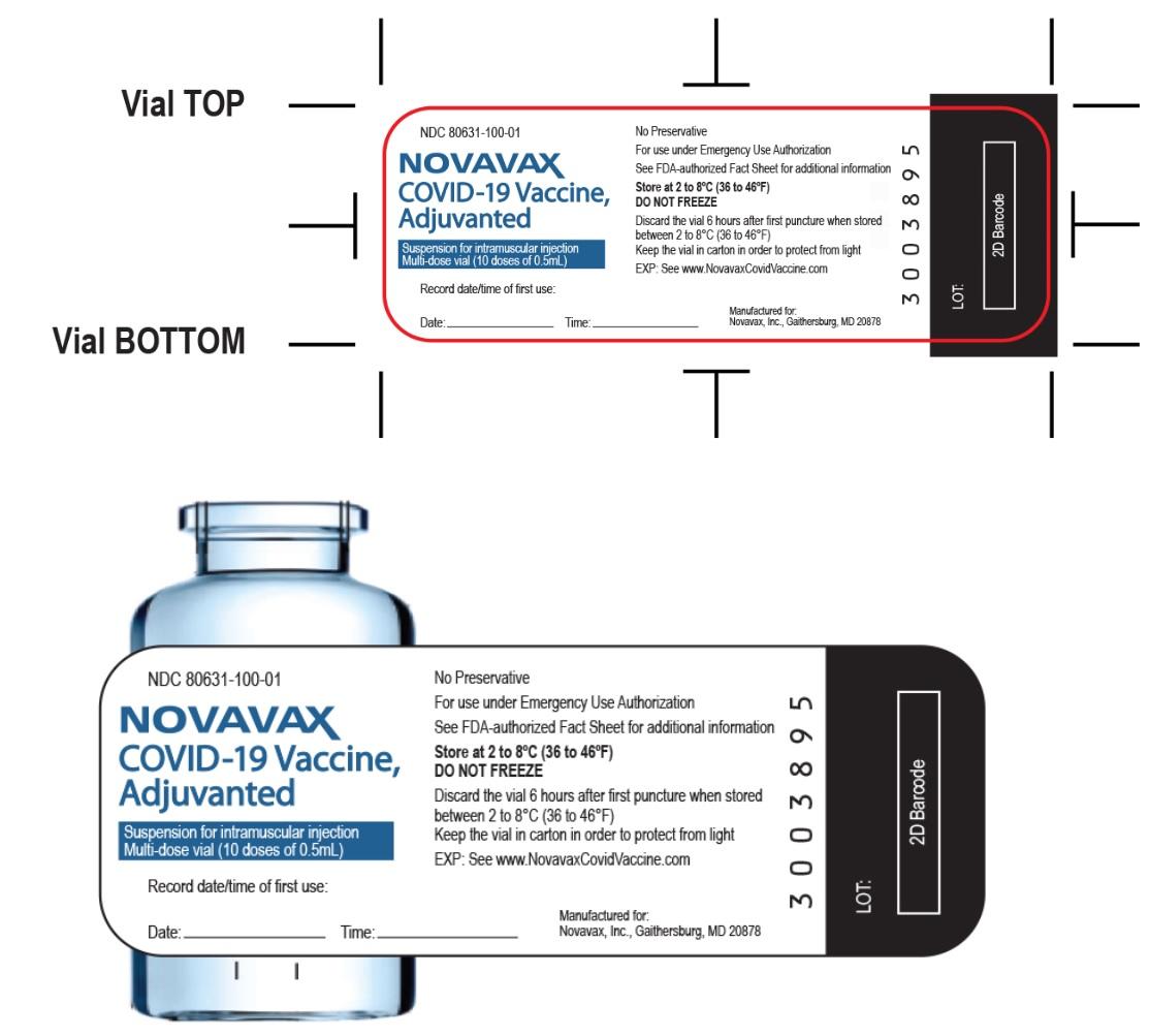 vial label